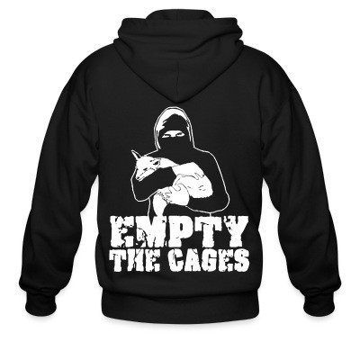 Capuche Zipper Empty the cages