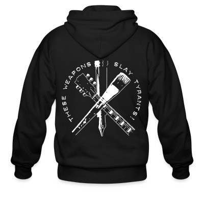 Capuche Zipper These weapons slay tyrants