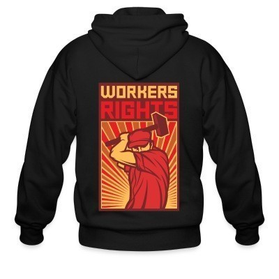Capuche Zipper Workers rights