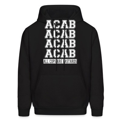 Capuche ACAB - All Cops Are Bastards