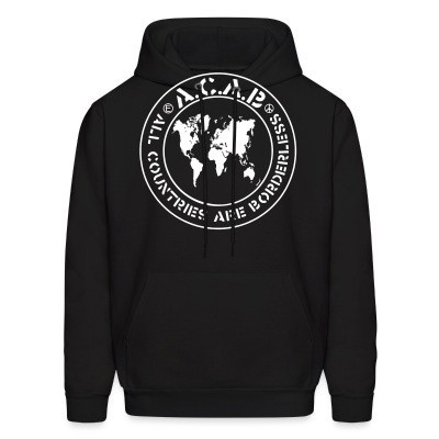 Capuche ACAB - All countries are borderless