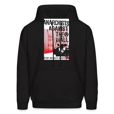 Capuche Anarchists against the wall stop israel's apartheid