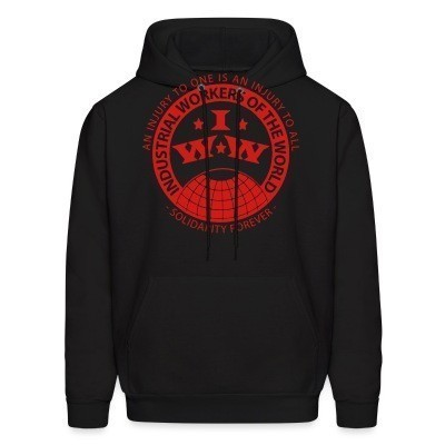 Capuche IWW - Industrial Workers of the World - an injury to one is an injury to all - solidarity forever
