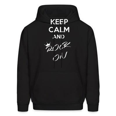 Capuche Keep calm and rock on