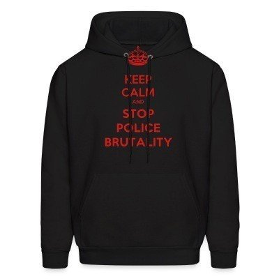 Capuche Keep calm and stop police brutality