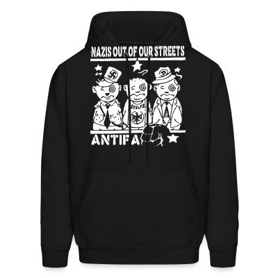 Capuche Nazis out of our streets - antifa