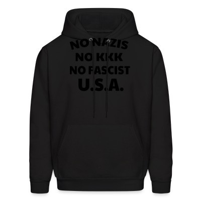 Capuche No nazis no kk no fascists USA