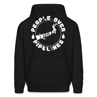 Capuche People over pipelines