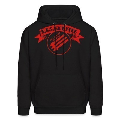 Capuche R.A.S.H United - Red & Anarchist Skinheads