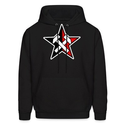 Capuche Working Class Black & Red Star
