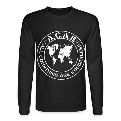 Mangas Largas ACAB - All countries are borderless