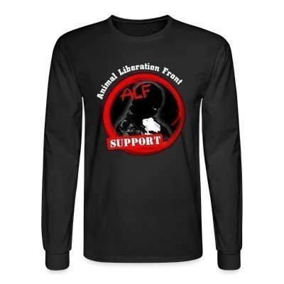 Mangas Largas ALF Animal Liberation Front support