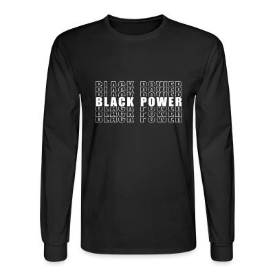 Mangas Largas Black Power