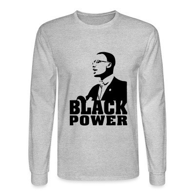 Mangas Largas Black Power (Malcolm X)