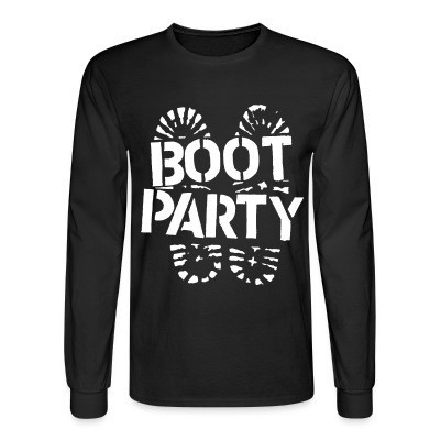 Mangas Largas Boot party