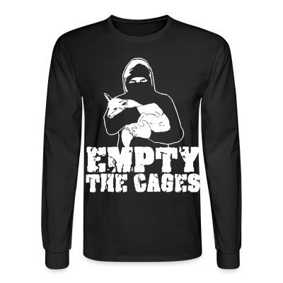 Mangas Largas Empty the cages