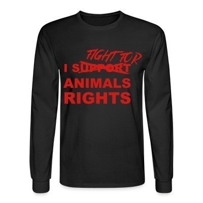 Mangas Largas I fight for animals rights