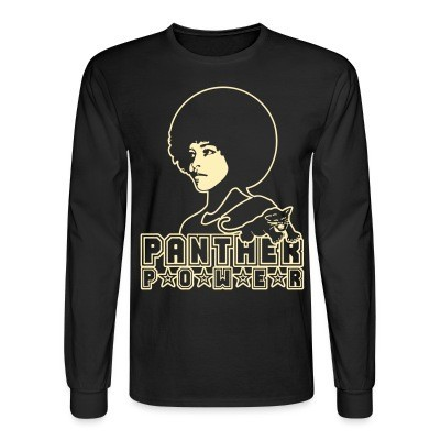 Mangas Largas Panther power (Angela Davis)