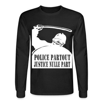 Mangas Largas Police partout justice nulle part