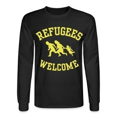 Mangas Largas Refugees welcome