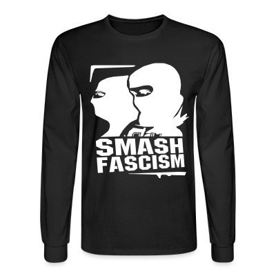 Mangas Largas Smash fascism