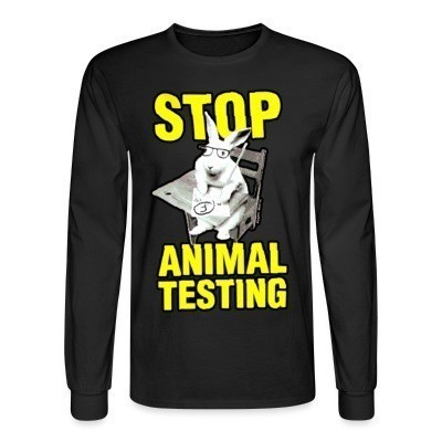Mangas Largas Stop animal testing