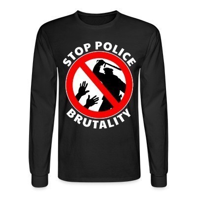 Mangas Largas Stop police brutality