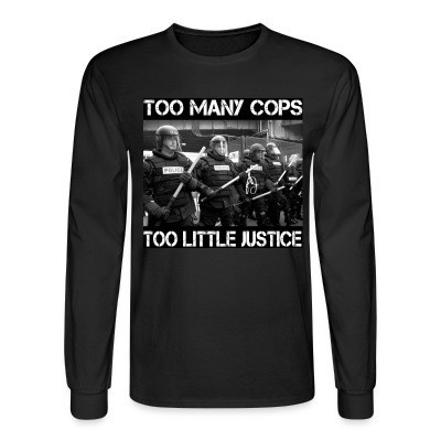 Mangas Largas Too many cops too little justice