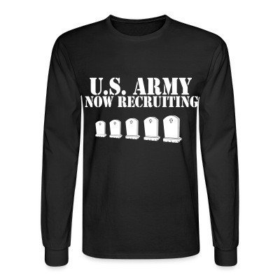 Mangas Largas U.S. Army now recruiting