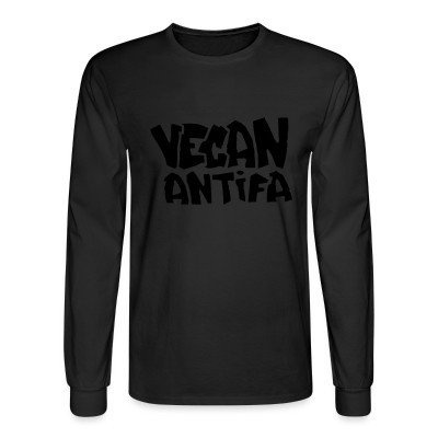 Mangas Largas Vegan antifa