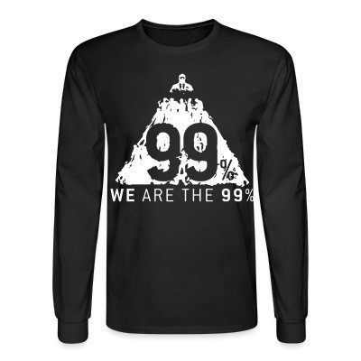 Mangas Largas We are the 99%