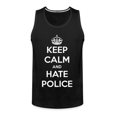 Sin Manga Keep calm and hate police