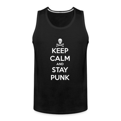 Sin Manga Keep calm and stay punk