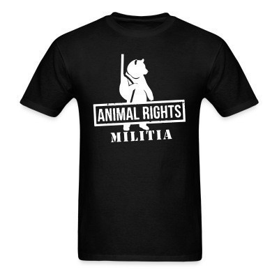 Camiseta Animal rights militia
