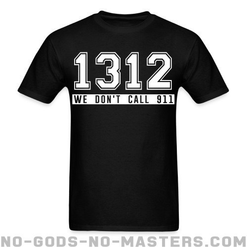 1312 we don't call 911 - ACAB Camiseta