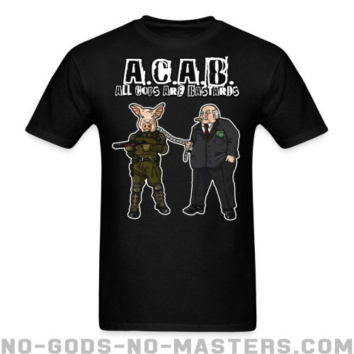 A.C.A.B All Cops Are Bastards - ACAB Camiseta
