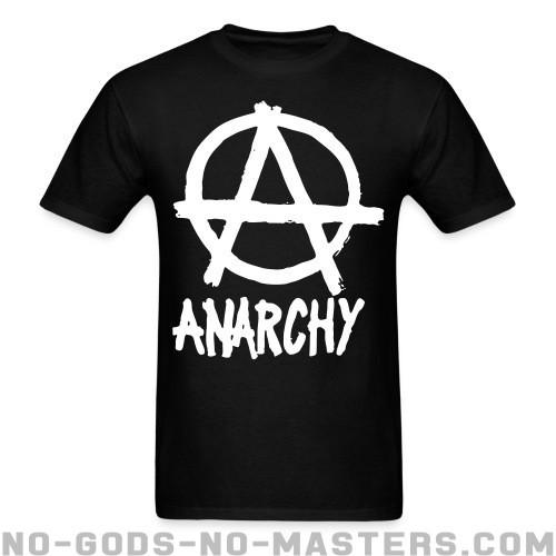 Anarchy - Activista Camiseta
