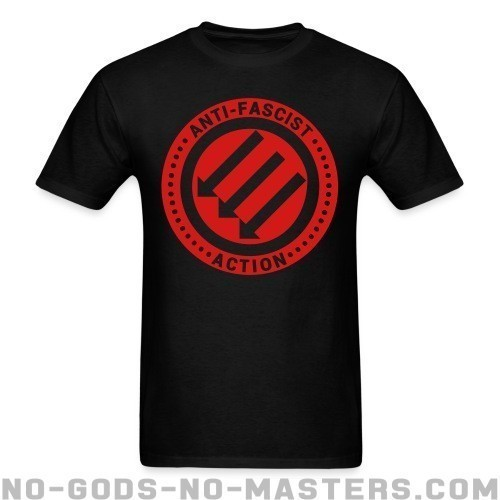 Anti-fascist action - Anti-fascista Camiseta