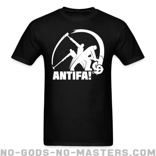 Antifa! - Anti-fascista Camiseta