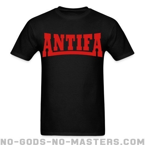 Antifa - Anti-fascista Camiseta
