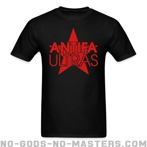 Antifa ultras - Anti-fascista Camiseta