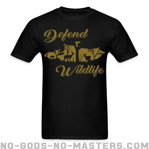 Defend wildlife - Liberacion Animal Camiseta