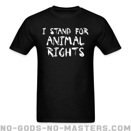 I stand for animal rights - Liberacion Animal Camiseta
