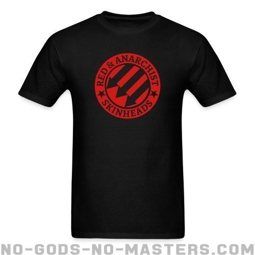 Red & anarchist skinheads - Skinhead Camiseta