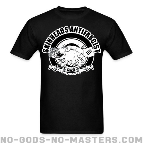 Skinheads antifascist - fight nazi scum - Skinhead Camiseta