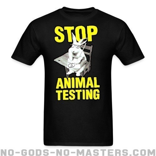 Stop animal testing - Liberacion Animal Camiseta