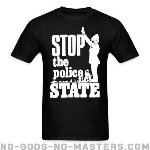 Stop the police state - ACAB Camiseta