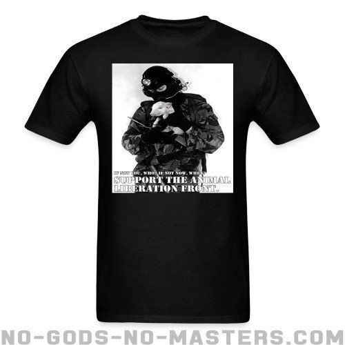 Support the animal liberation front - Liberacion Animal Camiseta