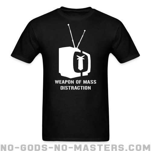 Weapon of mass distraction - Activista Camiseta