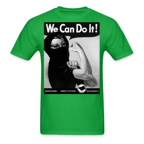 We can do it! anarchism - direct action - solidarity